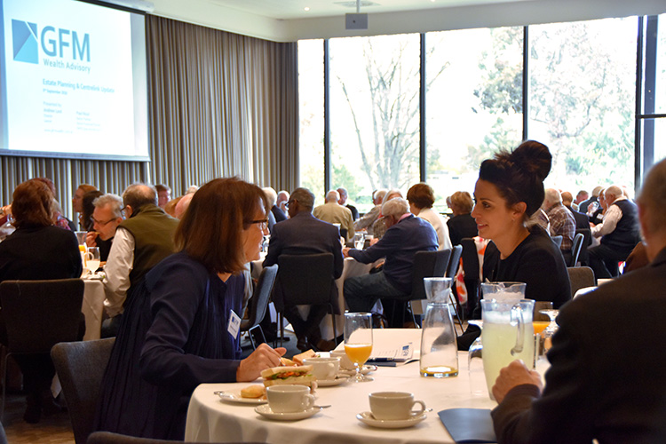 Quarterly Business Lunch – Estate Planning And Centrelink Age Pension Changes From 1st January 2017