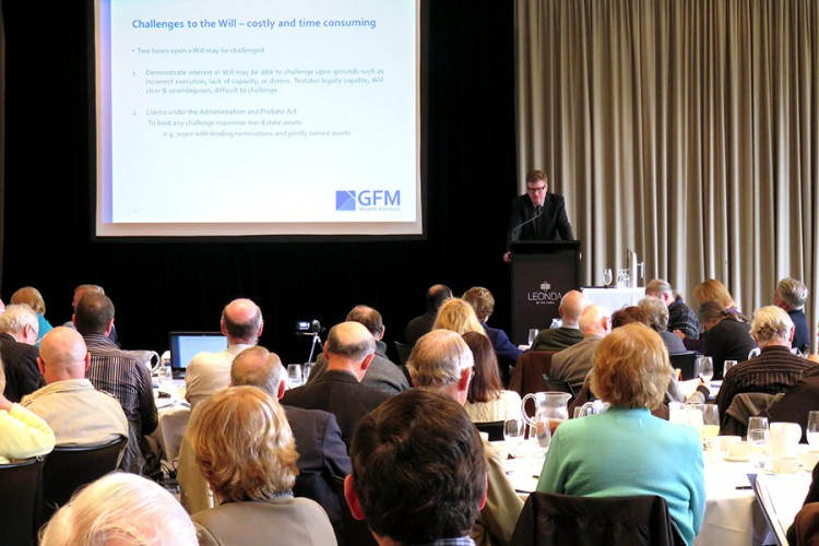 Estate Planning Seminar – Creating Certainty