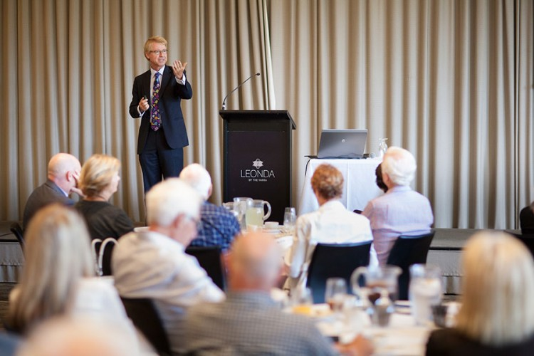 Quarterly Business Lunch with Shane Oliver – 2016 An Insight Into The Year Ahead